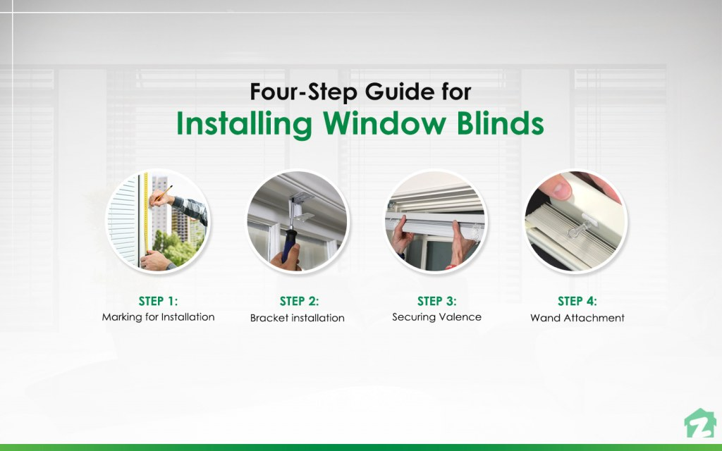 Four-Step Guide for Installing Window Blinds