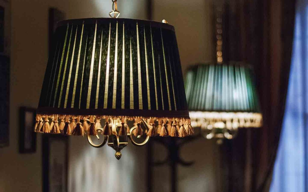 different types of lamp and light shades are available these days