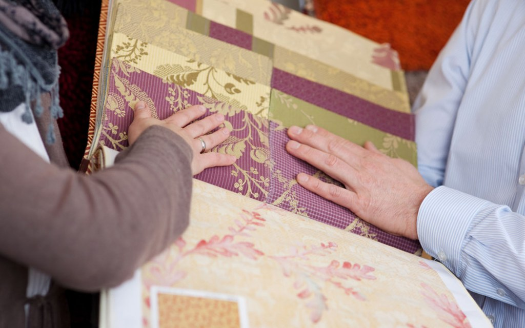 fabric wallpaper for your home